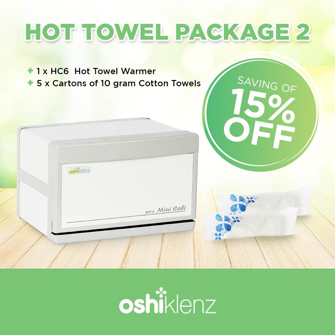 Hot towel package 2