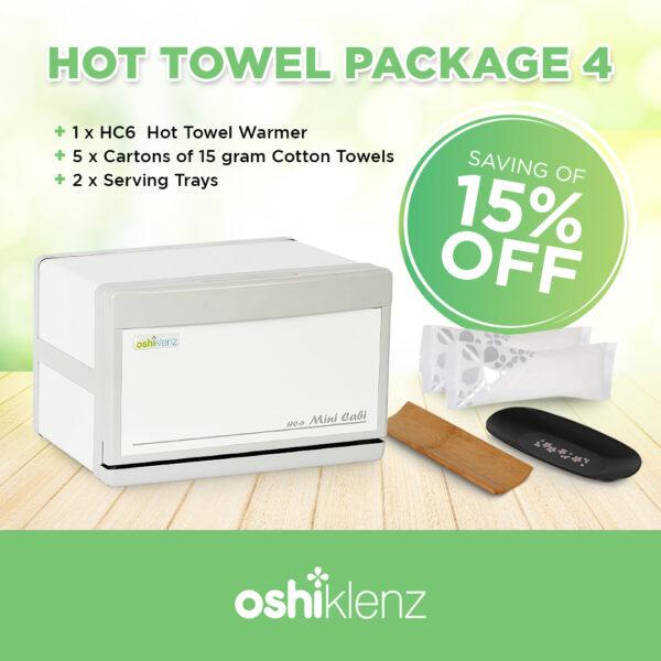 Hot towel package 4