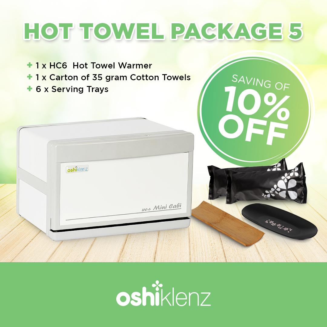 Hot towel package 5